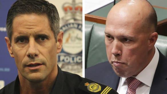 Dutton asked Quaedvlieg to help his mate get a Border Force job