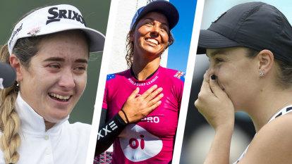 Top of the world: An astonishing 24 hours for Australian women's sport
