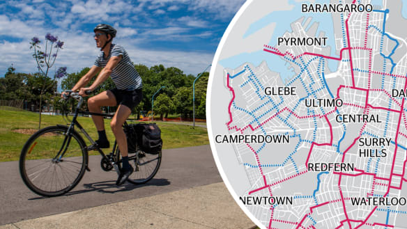Sydney's inner-city cycling routes could be finished, but not until 2030