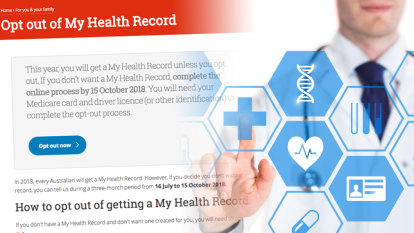 Almost a million opt out of My Health Record