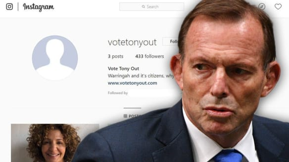 'Vote Tony out': Turnbull family get behind campaign