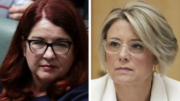 Environment Minister Melissa Price attacks Kristina Keneally over reef 'witch hunt'