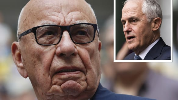 'Rupert never said Malcolm's got to go': Lachlan Murdoch rejects claims in new interview