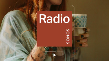 Sonos Radio features linear genre-based playlists and mixes programmed by artists.