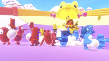Egg Scramble is the most enjoyable team game, whether you're stealing eggs or defending your own nest from poachers.
