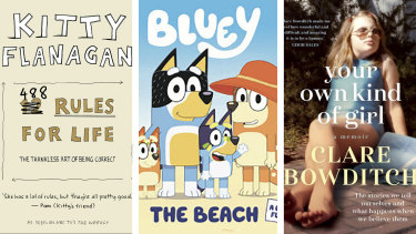 488 Rules for Life by Kitty Flanagan, Bluey: The Beach and Your Own Kind of Girl by Clare Bowditch all collected prizes at the ABIAs.