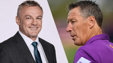 Craig Bellamy and the Melbourne Storm have taken offence to comments made by News Corp journalists.