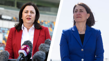 NSW Premier Gladys Berejiklian has said 28 days of no community transmission was not feasible.