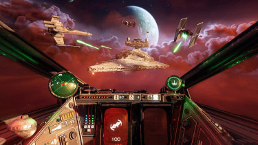 Squadrons nails the Star Wars illusions with details old and new.