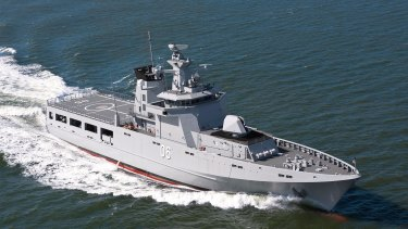 Luerssen will begin building its first OPV in Perth by March.