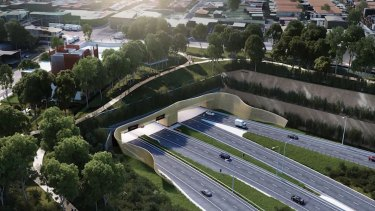 New road such as WestConnex will be needed to cater for growing population.