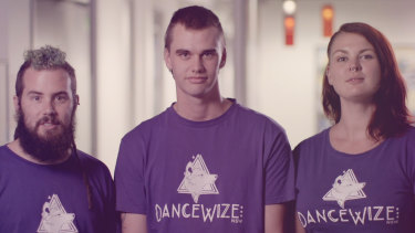 Dancewize volunteers appear in NSW Health's harm minimisation campaign.