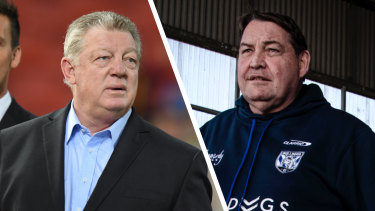 Power couple: Phil Gould and Steve Hansen are on the verge of forming an alliance that will be the envy of all rugby league and union clubs.