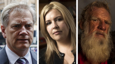 Andrew Bolt, Josephine Cashman and Bruce Pascoe.