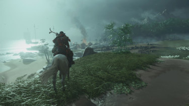 The wind and storms play a major role in Ghost of Tsushima.