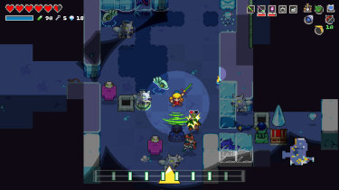 Dungeons are randomly generated, filled with challenging enemies and valuable loot.