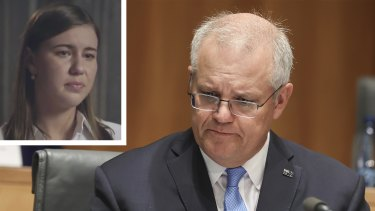 Prime Minister Scott Morrison says he was not told about the allegations made by Brittany Higgins.