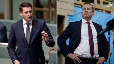 WA Liberal MP Andrew Hastie has criticised Premier Mark McGowan over his comments attacking the federal government's handling of its relationship with China.