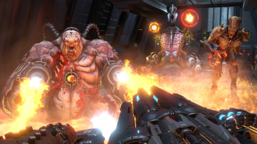 Doom Eternal encourages playing (killing) in the most enjoyable way.