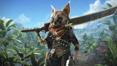 Dressing your rodent-like avatar in cute little people clothes is just one of the many forms of customisation in Biomutant.