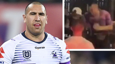 Nelson Asofa-Solomona was sanctioned after a brawl in Bali.