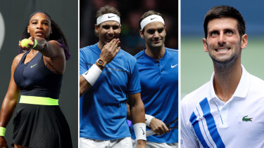 Serena Williams, Rafael Nadal, Roger Federer and Novak Djokovic have all committed to play at The Australian Open pending government approval.
