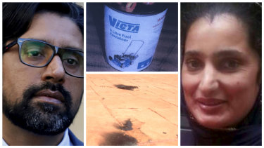 Parwinder Kaur died after she was set alight at her Rouse Hill home. Her husband Kulwinder Singh is facing trial over her murder.