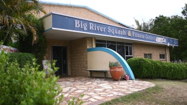 The Big River Squash and Fitness Centre.