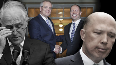 Turnbull, Morrison, Frydenberg, Dutton