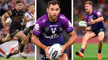 Nathan Cleary, Cameron Smith and Cameron Munster will undoubtedly have a big impact on Sunday's grand final.