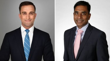 Adviser to Finance Minister Anthony Spagnolo and management consultant Nick Marvin will contest Liberal preselection for the seat of Riverton.