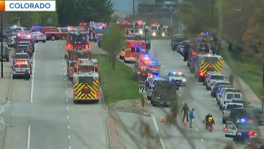 Multiple students have been injured in a school shooting in Denver, Colorado.