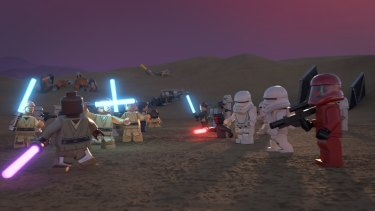 The less-than-special Lego Star Wars Holiday Special.