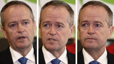 Opposition Leader Bill Shorten has defended the legacy of his mother, Ann, at an emotional press conference in Nowra.
