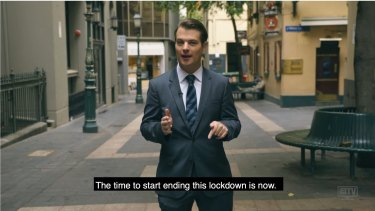 IPA policy director Gideon Rozner appeared in a controversial video in early April 2020 calling for lockdowns to end.