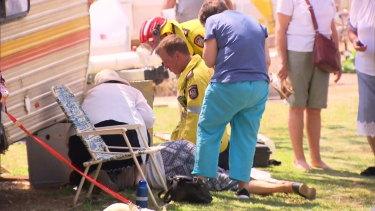 Emergency crews assist Gnangara residents.