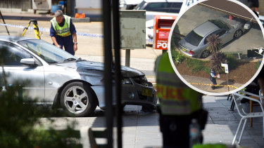 A 40-year-old woman was killed and nine others injured after a car crashed into a cafe in Sydney's north.