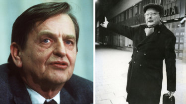 Sweden dropped its investigation into the unsolved murder of former PM Olof Palme (left), because the main suspect, Stig Engstrom (right), died in 2000.