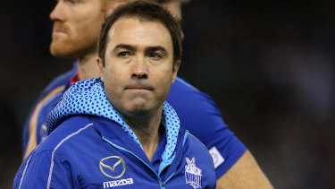 Former North Melbourne coach Brad Scott is weighing up his options, and will have no shortage of suitors.