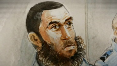 Omarjan Azari was sentenced in the NSW Supreme Court on Friday.