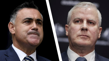A source close to Barilaro confirmed the Deputy Premier had sent the message to McCormack.