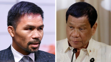 Manny Pacquiao had been seen as a possible contender to succeed Rodrigo Duterte in next year's presidential election.