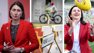 Gladys Berejiklian wants to talk to her Queensland counterpart Annastacia Palaszczuk about border closures.