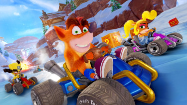 Same old bandicoot, same tough racing, brand new look.