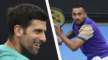 Novak Djokovic says he doesn't have much respect for Nick Kyrgios off the court.