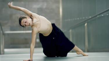 Benedicte Bemet in Capriccio, which was inspired by the challenge of her major injury.