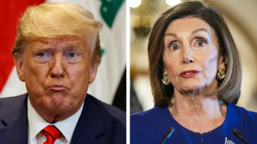 The dance is over: impeachment means war between Nancy Pelosi and Donald Trump.