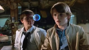 River Phoenix and Ethan Hawke in Explorers.