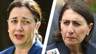Queensland Premier Annastacia Palaszczuk and NSW Premier Gladys Berejiklian have fought a war of words over state borders this week.