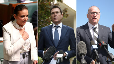 YouGov Galaxy polls has Anne Aly ahead in Cowan, Christian Porter leading in Pearce and Steve Irons on top in Swan, all by 51-49 per cent.